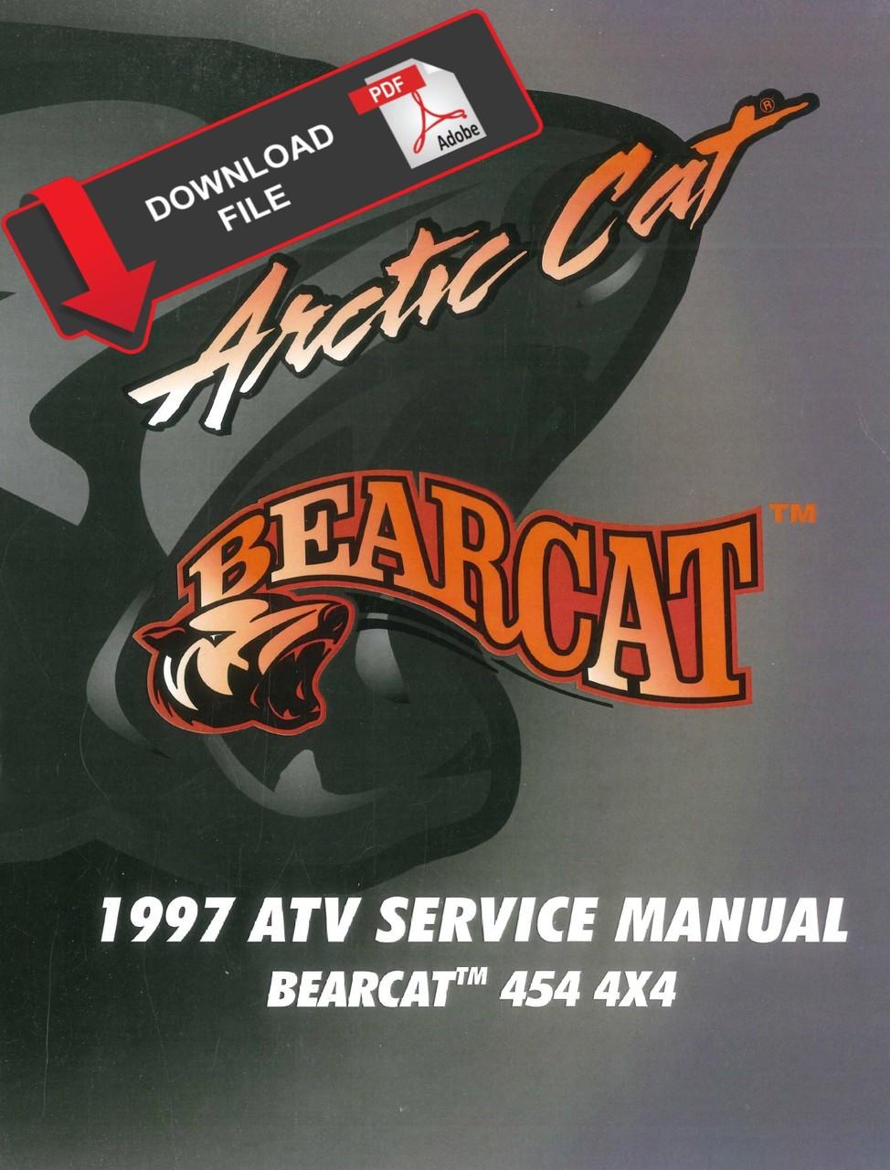 ispacegoa.com Arctic Cat 1996 Bearcat 454 4x4 Service Manual ...