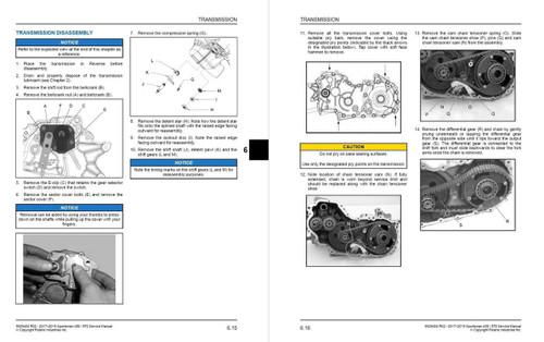 Polaris 2019 Sportsman 450 HO ATV Service Manual