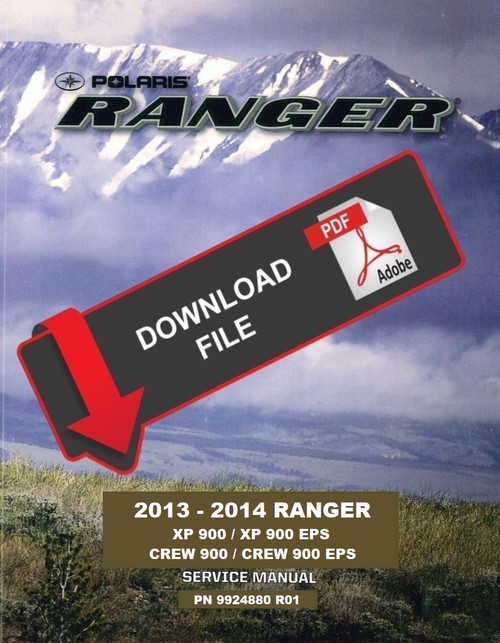 polaris ranger shop manual