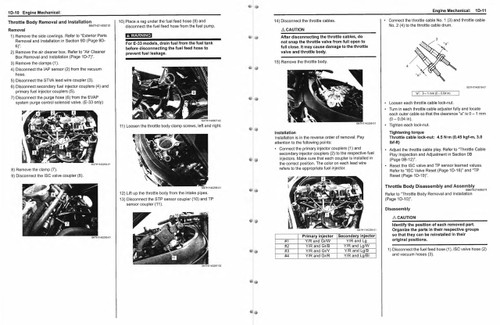 Suzuki 2015 GSX-R 1000 Service Manual