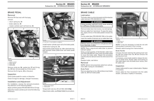 Bombardier 2002 Quest 650 Service Manual