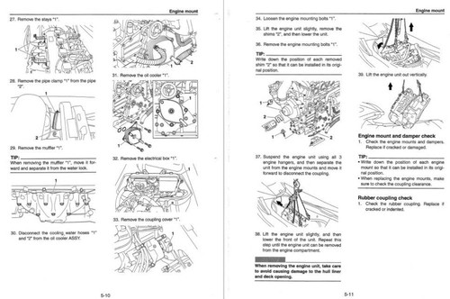 Yamaha 2015 Waverunner VXR Service Manual