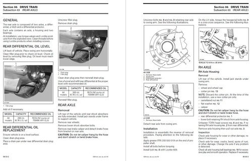 Bombardier 2002 Traxter Service Manual