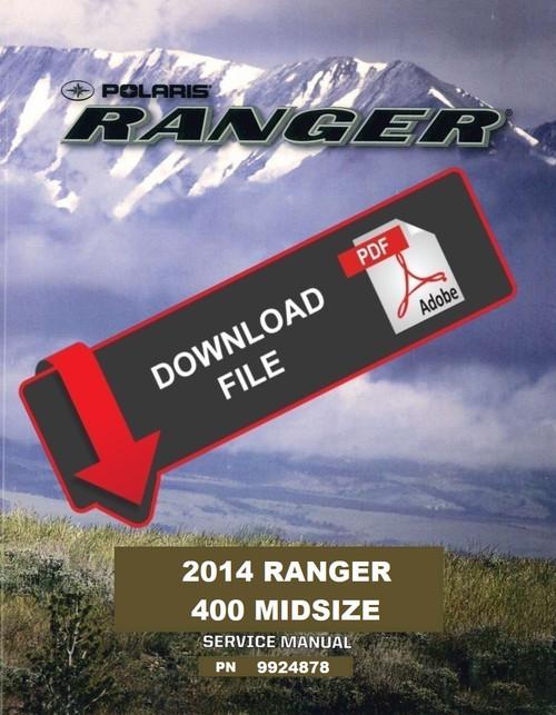 Polaris 2014 Ranger 400 Service Manual