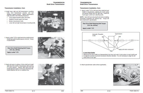 Polaris 1998 Sportsman 500 ATV Service Manual