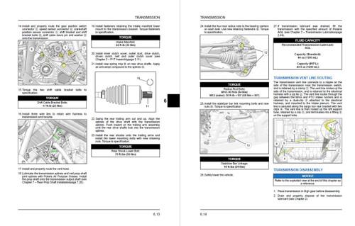 Polaris 2019 RZR XP 1000 Ride Command Service Manual