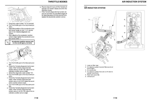 Yamaha 2018 YZF-R6 Service Manual