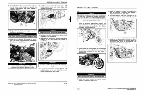 Indian Motorcycle 2018 Chieftain Service Manual