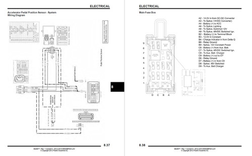 Polaris 2014 Ranger EV Service Manual