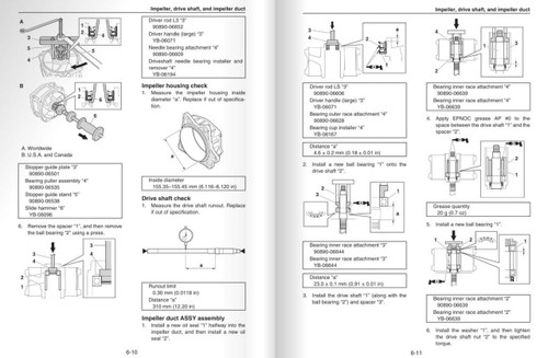 Yamaha 2017 Waverunner VX Deluxe Service Manual
