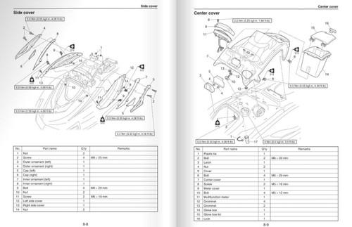 Yamaha 2018 Waverunner VX Deluxe Service Manual