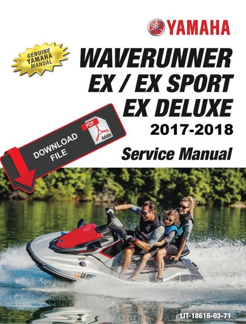 Yamaha 2017 Waverunner GP1800 Service Manual
