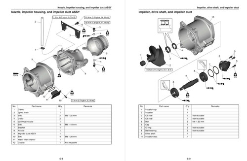 Yamaha 2018 Waverunner EX Service Manual