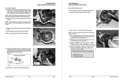 Polaris 2000 Trail Boss 325 ATV Service Manual