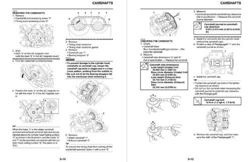 Yamaha 2017 Kodiak 700 EPS 4WD Service Manual