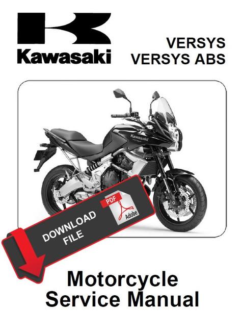 Kawasaki Motorcycle Service Manual Downloads