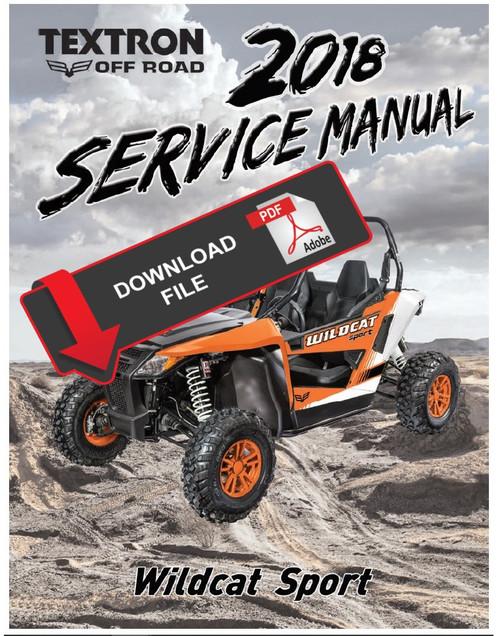 Arctic Cat    Textron 2018 Wildcat Xx Service Manual