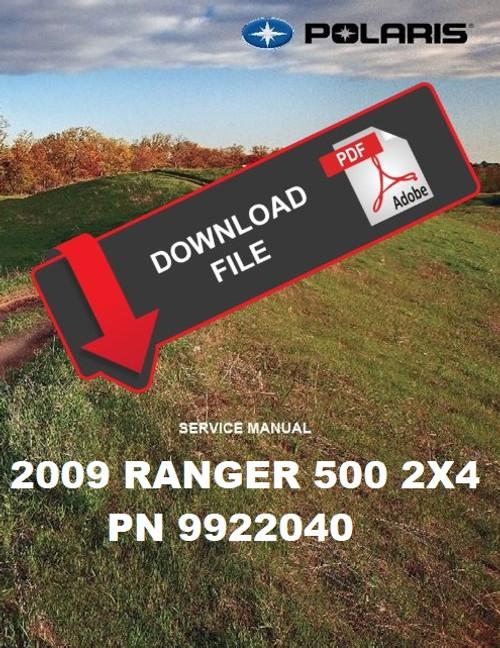 polaris ranger 500 repair manual download