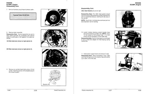 Polaris 1998 Sportsman 500 ATV Service Manual