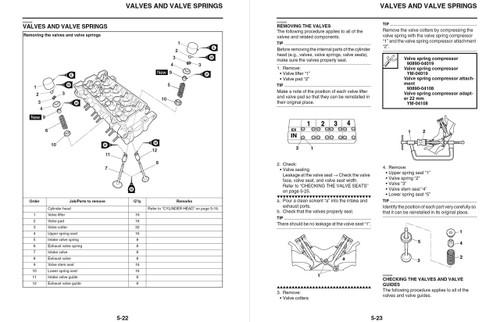 Yamaha 2013 YZF-R6 Service Manual