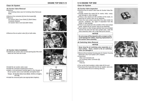 Kawasaki 2015 Versys 1000 Service Manual