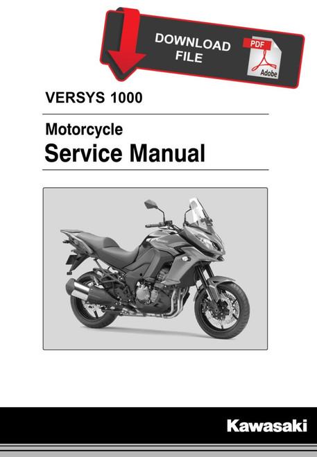 Kawasaki 2017 Versys 1000 Service Manual