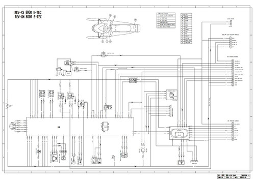 Ski-Doo 2014 REV-XM 800R E-TEC Snowmobiles Service Manual