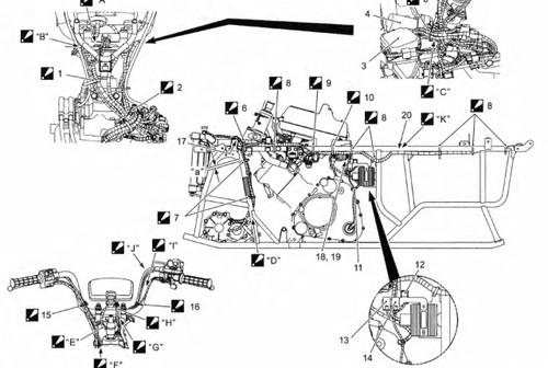 Suzuki 2013 King Quad 500 ATV Service Manual