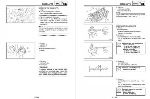 Yamaha 2004 FJR1300 Service Manual