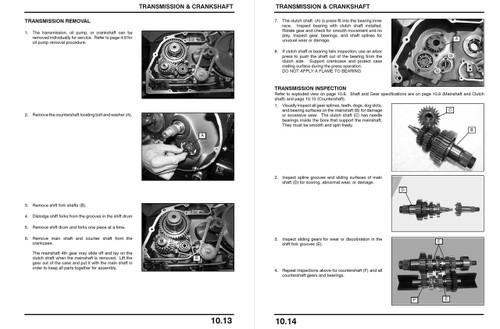 Victory 2005 Vegas Service Manual