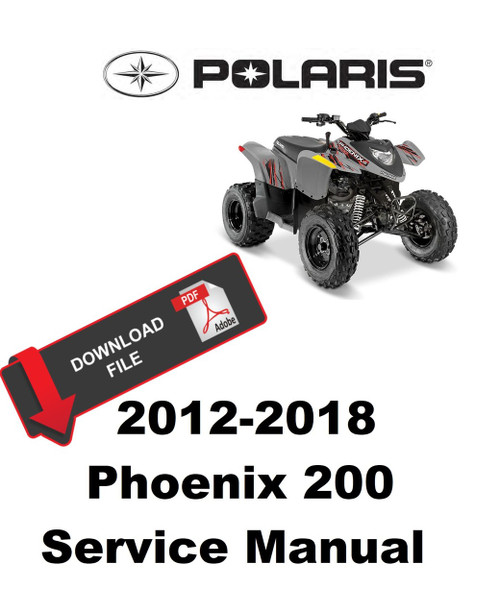 Polaris 2016 Phoenix 200 Service Manual