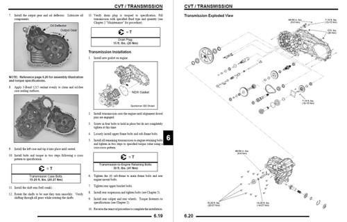 Polaris 2008 Sportsman 400 HO ATV Service Manual
