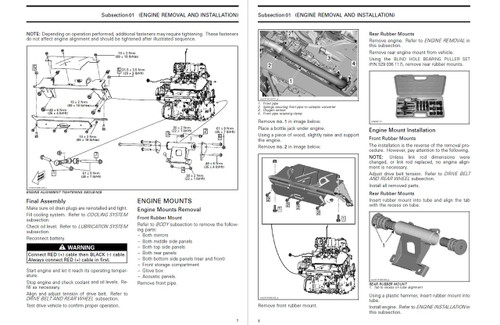 Can-Am 2018 Spyder RT Service Manual
