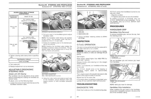 Sea-Doo 2013 4-TEC Jetski Personal Watercraft Service Manual