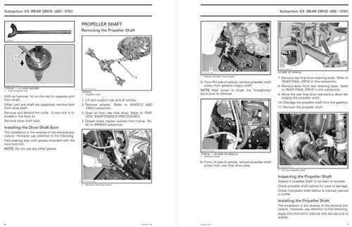 Can-Am 2017 Outlander Max 450 Service Manual