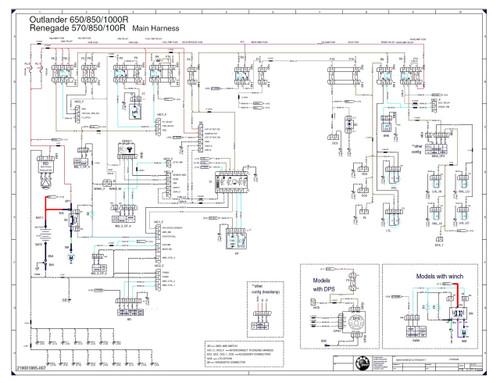 canam 2017 outlander 850 service manual