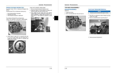 Polaris 2016 Outlaw 110 EFI ATV Service Manual