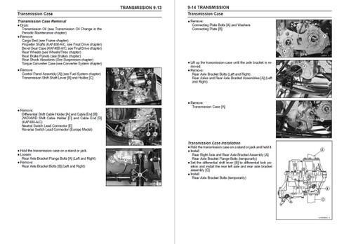 Kawasaki 2005 Mule 610 4x4 Service Manual