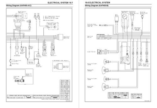 Kawasaki 2009 Mule 610 4x4 Service Manual