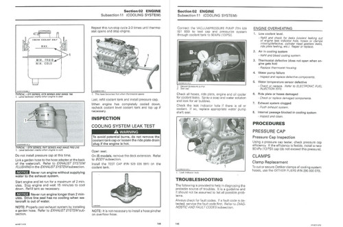 Sea-Doo 2011 4-TEC Jetski Personal Watercraft Service Manual