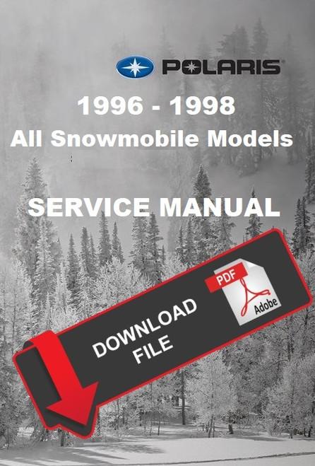 Polaris 1999 Indy 700 XC Snowmobiles Service Manual