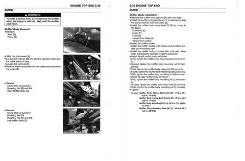 Kawasaki 2019 Z1000SX Service Manual