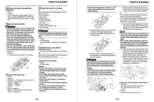 Yamaha 2018 XSR700 Service Manual