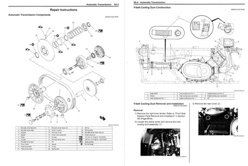 Suzuki 2017 King Quad 750 Atv Service Manual
