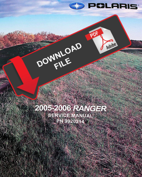 Polaris 2000 Ranger 500 4x4 Service Manual