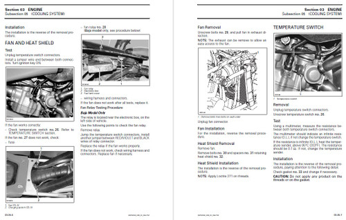 Bombardier 2004 DS 650 Baja Service Manual