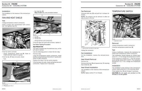 Bombardier 2004 DS 650 Baja Service Manual