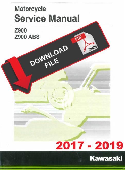 Kawasaki Service Manuals - 2017