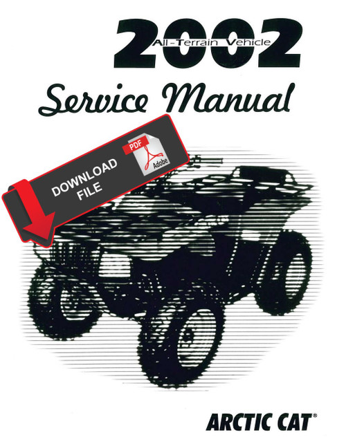 Arctic Cat 2002 500cc Tbx Atv Service Manual