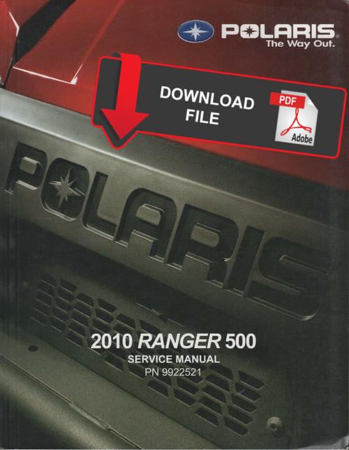 POLARIS RANGER 2010 SHOP MANUAL 400 SERVICE REPAIR BOOK